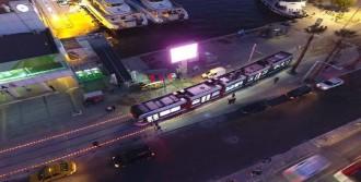 Karşıyaka Tramvayı Salı Günü Seferde