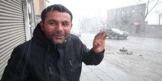 Kars'ta Nisan Ayında Kar ve Fırtına