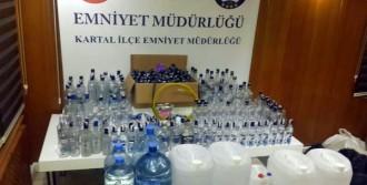 Kartal'da Yeni Yıl Öncesi Sahte İçki Operasyonu