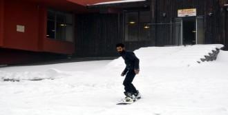 Kar Kalınlığı 30 Santime Ulaştı