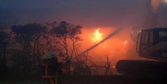 Karton Fabrikasında Çıkan Yangın 4 Saatte Kontrol Altına Alındı