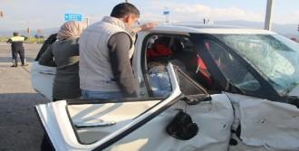 Salihli'de Trafik Kazası