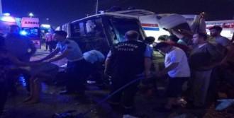 Kavşakta Zincirleme Trafik Kazası