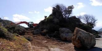 Kaya Kalktı, Site Sakinleri Rahatladı