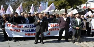 Kayseri'de 28 Şubat Protestosu