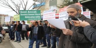 Kazan'da 'Charlie Hebdo' Protestosu