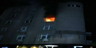 Konya'da Kurs Merkezi Yandı