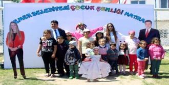 Kemer'de Renkli 23 Nisan Kutlaması