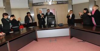 Kılıçdaroğlu Cumhuriyet Kadınları Derneği Üyeleriyle Görüştü