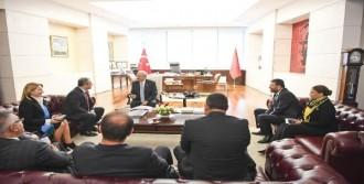 kılıçdaroğlu, Eğitim-İş heyetini Kabul Etti