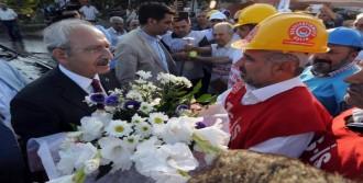 Yatağan'da Erdoğan'a Yüklendi