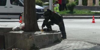 Kilis'te Şüpheli Çanta Fünye İle Patlatıldı