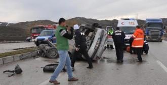 Kırıkkale 'de Kaza: 4 Yaralı
