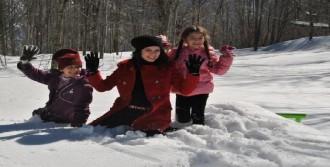 Nisan Ayında Kar Yağışı Sürprizi