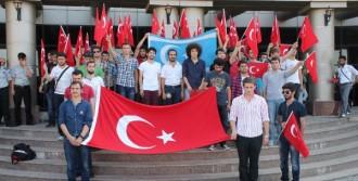 Kocaeli Üniversitesi'nde Yürüyüş