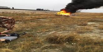 Konya'da İki Otomobil Çarpıştı: 1 Ölü, 4 Yaralı