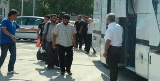 40 Suriyeli Kampa Gönderildi