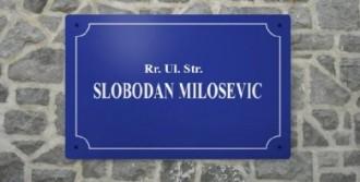 Caddeye Miloşeviç İsmi Verildi