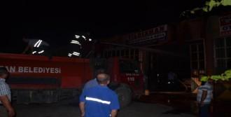 Kozan'da Atölye Yangını
