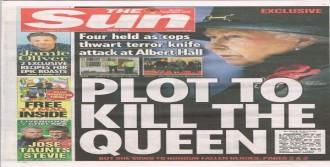 Kraliçe'ye Suikast İddiası