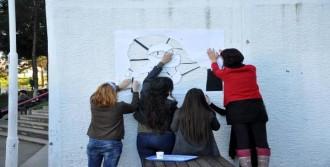 KTÜ'lü Öğrencilerden  Kadın Cinayetlerine Tepki Eylemi