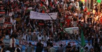 Kudüs'ün İşgali Protesto Edildi
