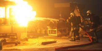 Kuruyemiş Fabrikasında Korkutan Yangın