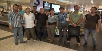 Libya'da Mahsur Kalan İnşaat İşçileri Dönüyor