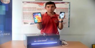 Lise Öğrencisi, Çevreci Jeneratör Yaptı