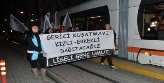 Eğitim Bir-Sen'e Yumurtalı Protesto