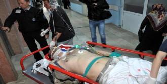 Maden İşçisi, İş Kazasında Yaralandı