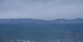 Madran'a Nisan Ayında Kar Yağdı