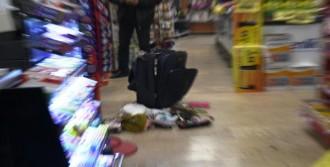 Markette Şüpheli Valiz Paniği