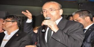Maliye Bakanı Şimşek Nazilli'de