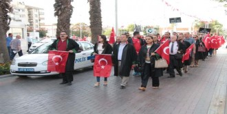 Manisa Barosu'ndan Terör Protestosu