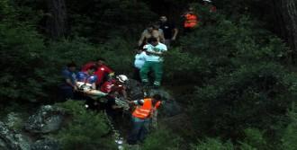 Dağda Yaralanan Sporcu Kurtarıldı