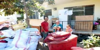 İki Aile Ramazan'da Evsiz Kaldı