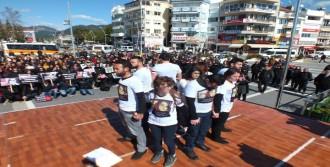Marmaris'te Kadın Cinayetlerine Piyesli Tepki
