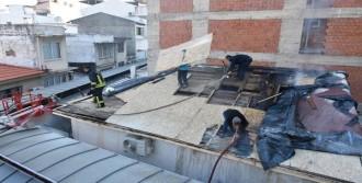 Marmaris'teki Yangın Paniğe Neden Oldu