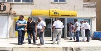 PTT Şubesini Soydular