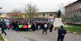 Mazgirt'te Müftüyü Protesto Yürüyüşü