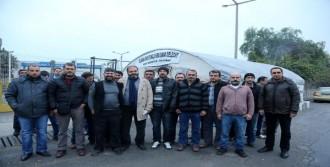 Cam İşçileri Açlık Grevine Başladı