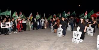 Mersin'de Çerkesler Soykırım Ve Sürgünü Andı