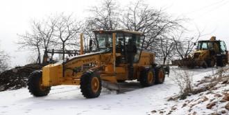 Mersin'de Ulaşıma Kar Engeli
