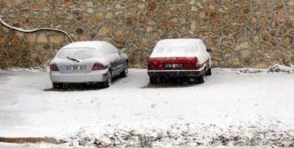 Mersin'e Kar Yağdı