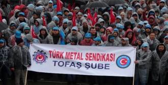 Metal İşçileri Tekrar Meydanlara İndi