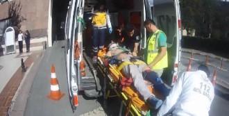 Şantiyede İş Kazası: 1 Yaralı