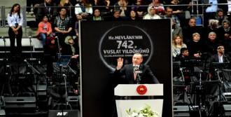 Mevlana, Ölümünün 742'nci Anıldı