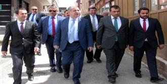 Özdağ Erzurum'da Partililerle Buluştu