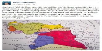 Halaçoğlu, O Haritayı Yine Gündeme Taşıdı